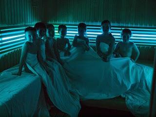 Děti v sauně