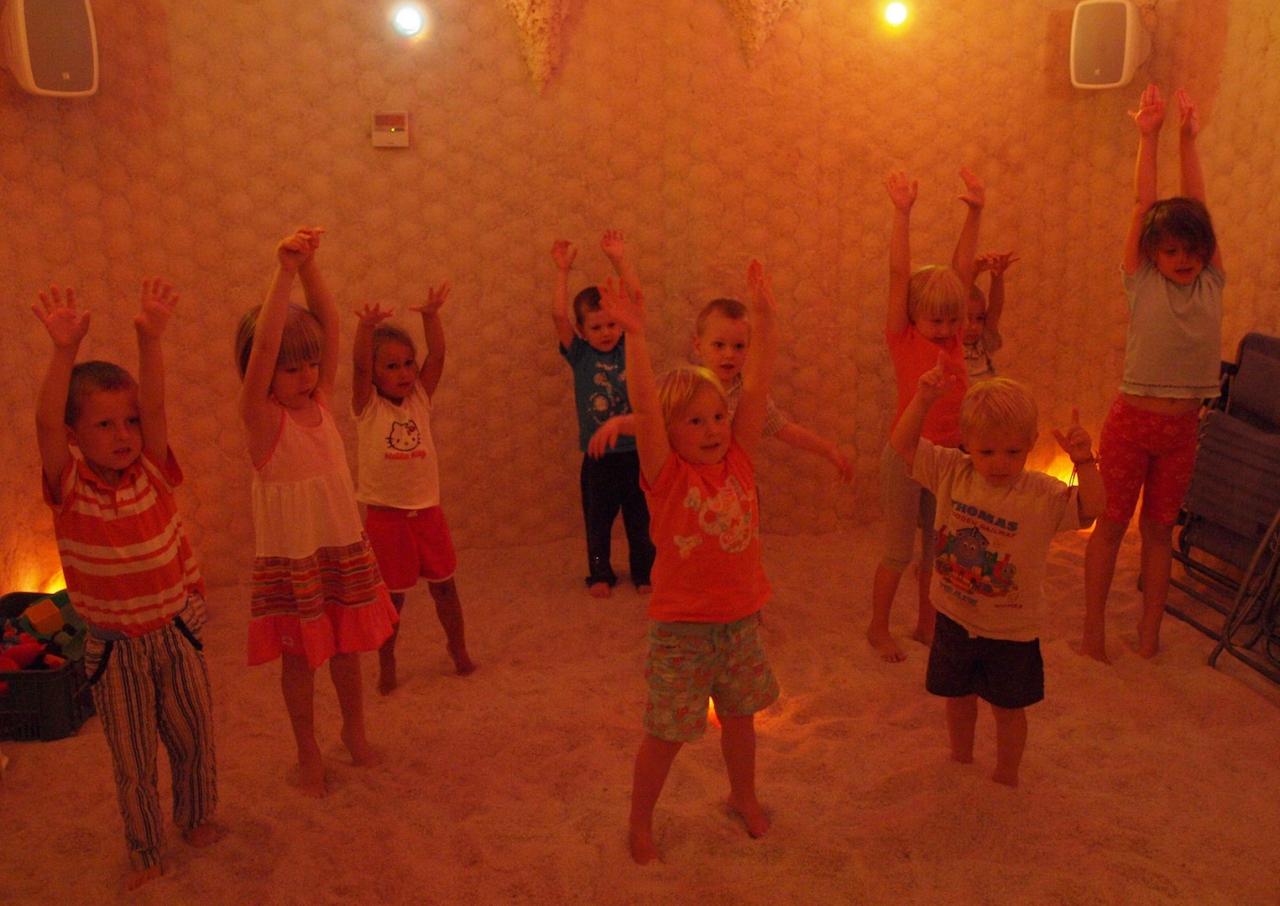 Spaní v solné jeskyni pro děti
